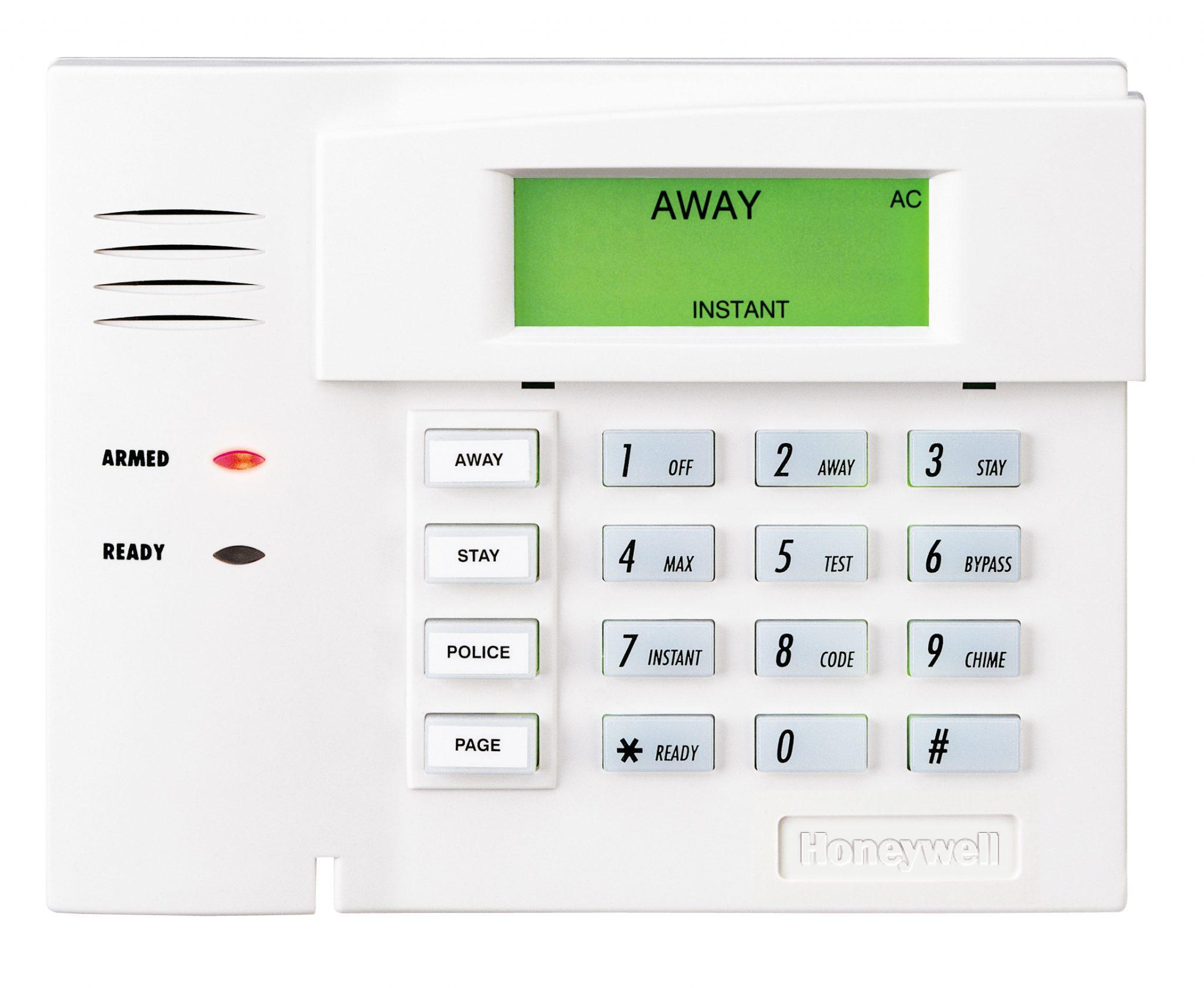 Honeywell 6150 Keypad Bypassing a Zone