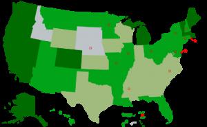 Cannabis and Marijuana Legalization Map